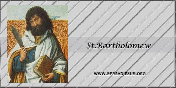 St Bartholomew Apostle
