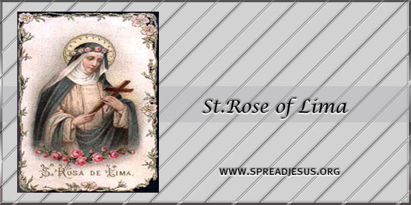 St.Rose of Lima Virgin