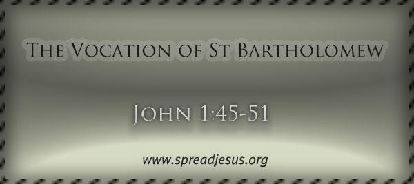 The Vocation of St Bartholomew