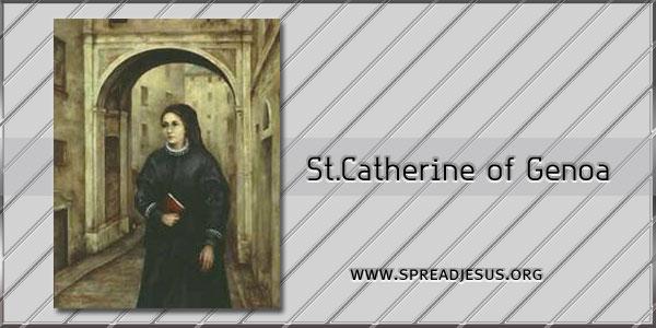 St Catherine of Genoa Widow