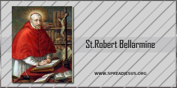 St Robert Bellarmine Bishop