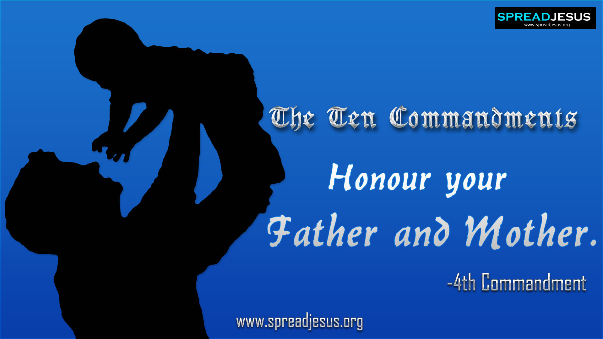 The Ten Commandments:: 4th Commandment in 10 Commandments :: 10 ...