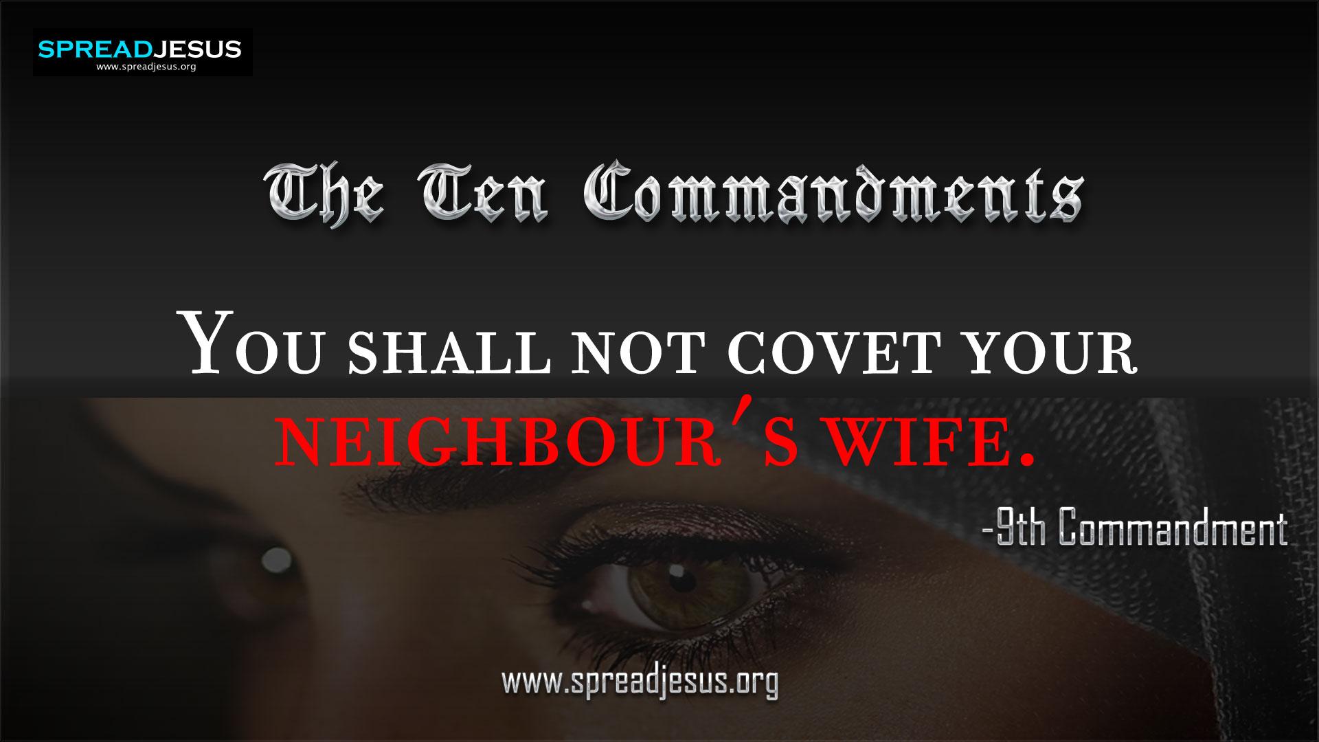 The Ten Commandments:: 6th Commandment in 10 Commandments :: 10 ...