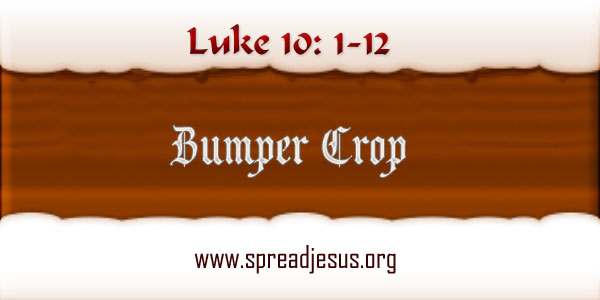 Bumper Crop Luke 10: 1-12