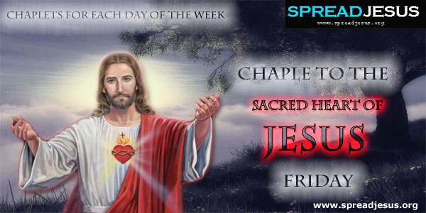 Friday Chaplet To The Sacred Heart Of Jesus