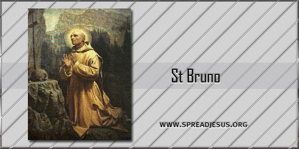 St Bruno Abbot Confessor