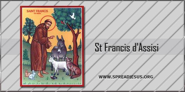 St Francis d'Assisi Confessor
