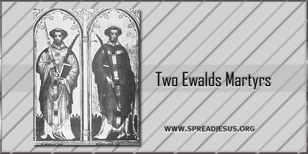 Two Ewalds Martyrs