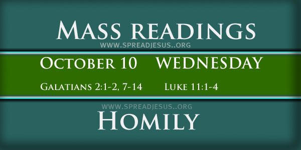 Mass Readings October 10 Wednesday 27th Week In Ordinary Time