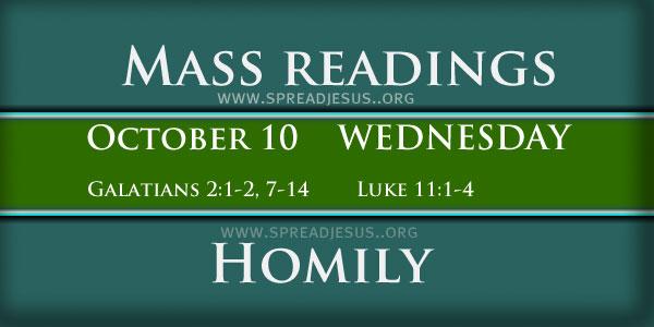 Mass Readings  October 10