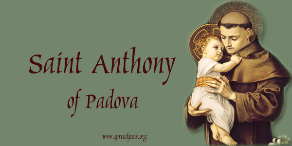 Saint Anthony of Padova, the great Miracle Worker.