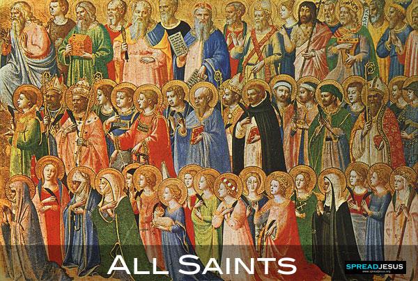 All Saints feast November 1