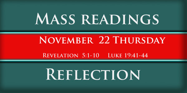 Mass Readings  November 22