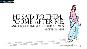 Matthew 4:19 BIBLE Quotes HD Wallpapers Download