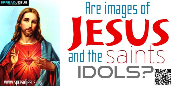 """Are images of Jesus and the saints idols?:A story by Stephen Vincent Benet titled """"By the Waters of Babylon"""" chronicles a traveller finding the ruins of a previous civilization.-spreadjesus.org"""