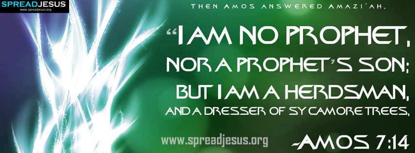 Amos Prophet Quotes