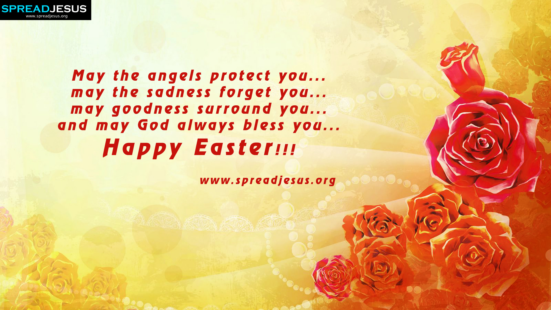 Happy Easter Easter Greetings Hd Wallpapers May The Angels Protect You