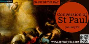 Conversion of St Paul January 25