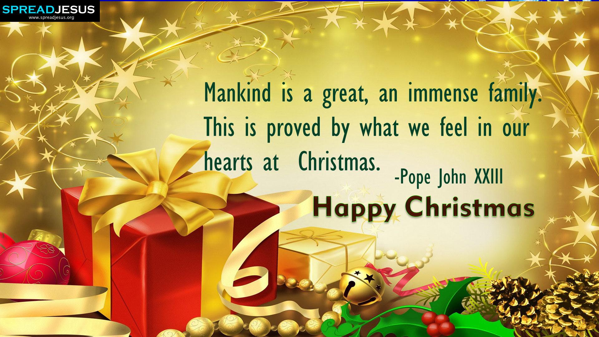 Happy Christmas:Christmas Greatings HD Wallpapers: Happy Christmas Quotes  Wallpapers Spreadjesus.org
