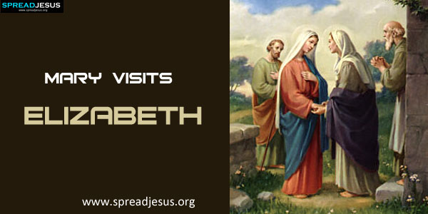 Mary Visits Elizabeth-spreadjesus.org