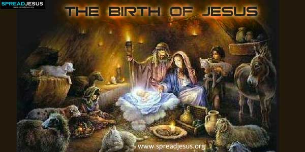 The Birth of Jesus-spreadjesus.org