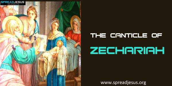 The Canticle of Zechariah-spreadjesus.org