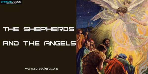 The Birth of Jesus-The Shepherds and the Angels-spreadjesus.org