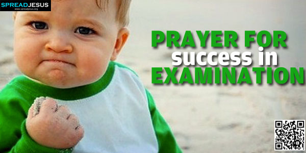 Prayer For Success In Examination