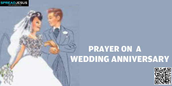 Prayer On A Wedding Anniversary