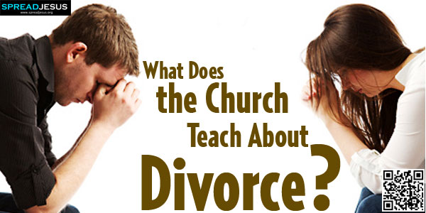 "What Does the Church Teach About Divorce?:When the Song of Songs speaks of marital commitment as a love that ""deep waters cannot quench nor floods sweep away"" (8:7)-spreadjesus.org"