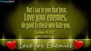 BIBLE QUOTES Luke 6:27