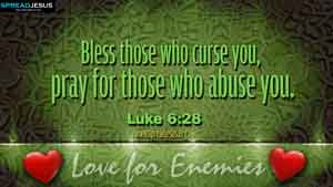 BIBLE QUOTES  Luke 6:28
