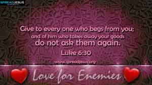 BIBLE QUOTES Luke 6:30