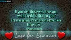 BIBLE QUOTES Luke 6:32