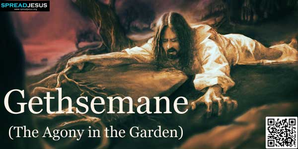 Gethsemane:The Agony in the Garden:Jesus came with them to a place called Gethsemane,.www.spreadjesus.org