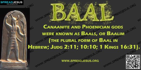 Biblical Definition Of MOUNT CARMEL Mount Carmel was the ... Baal Canaanite God
