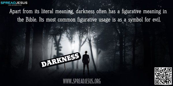 darkness the symbol of evil Darkness in our society is indicative of many symbols of evil for instance, a  black cat, dark night, and dark place are all ominous symbols light, as it is used  in.
