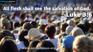 Bible Quotes HD-Wallpapers Luke 3:6