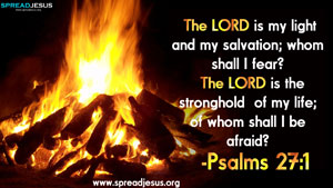 Bible Quotes HD-Wallpapers Psalms 27:1