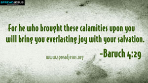 Bible Quotes HD-Wallpapers Baruch 4:29