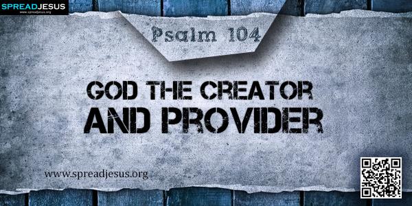 Psalm 104 Einheitsübersetzung