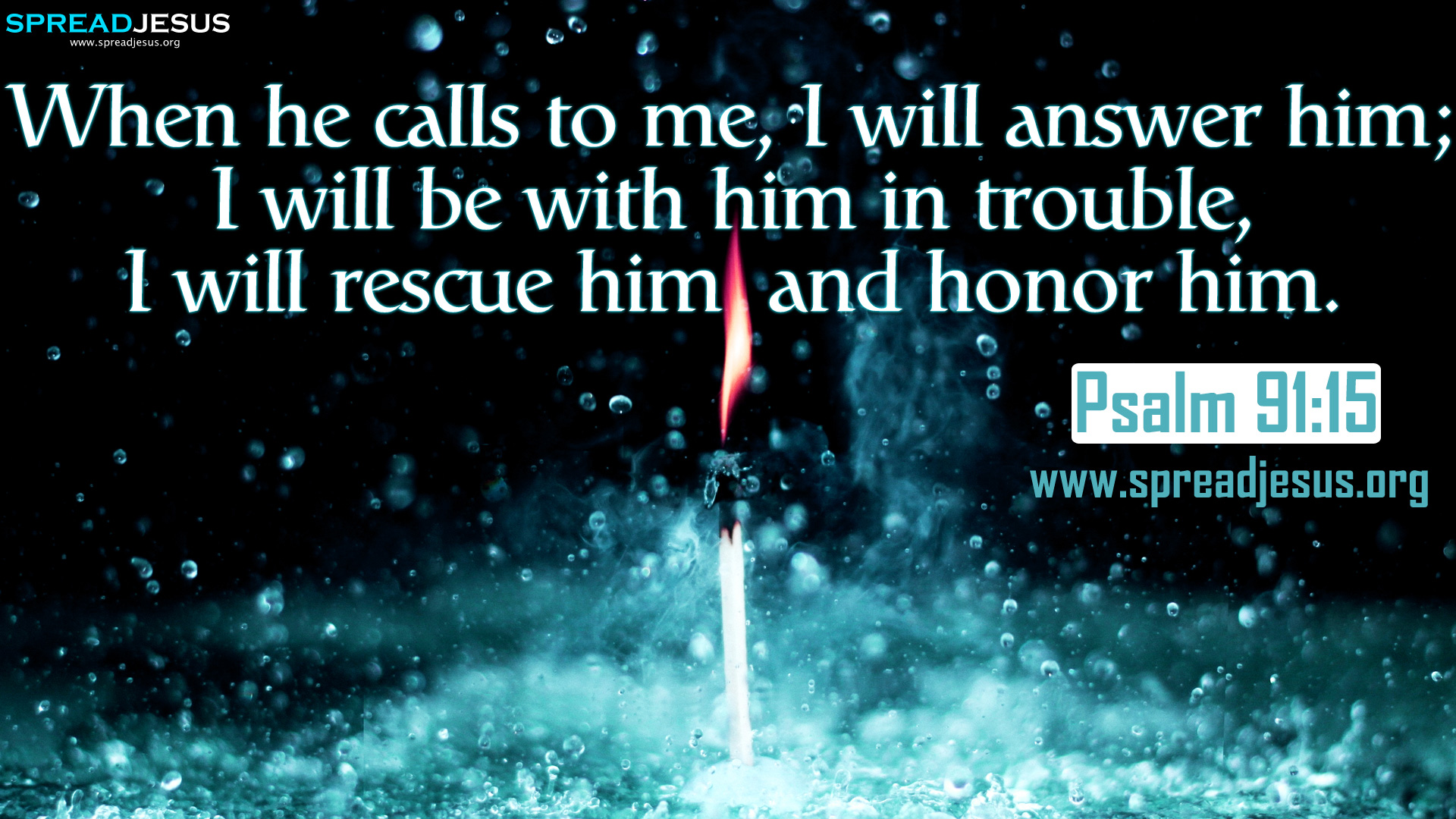 psalm 91 15 bible quotes hd wallpapers free download