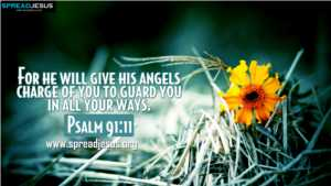 Psalm 91:11 BIBLE QUOTES HD-WALLPAPERS