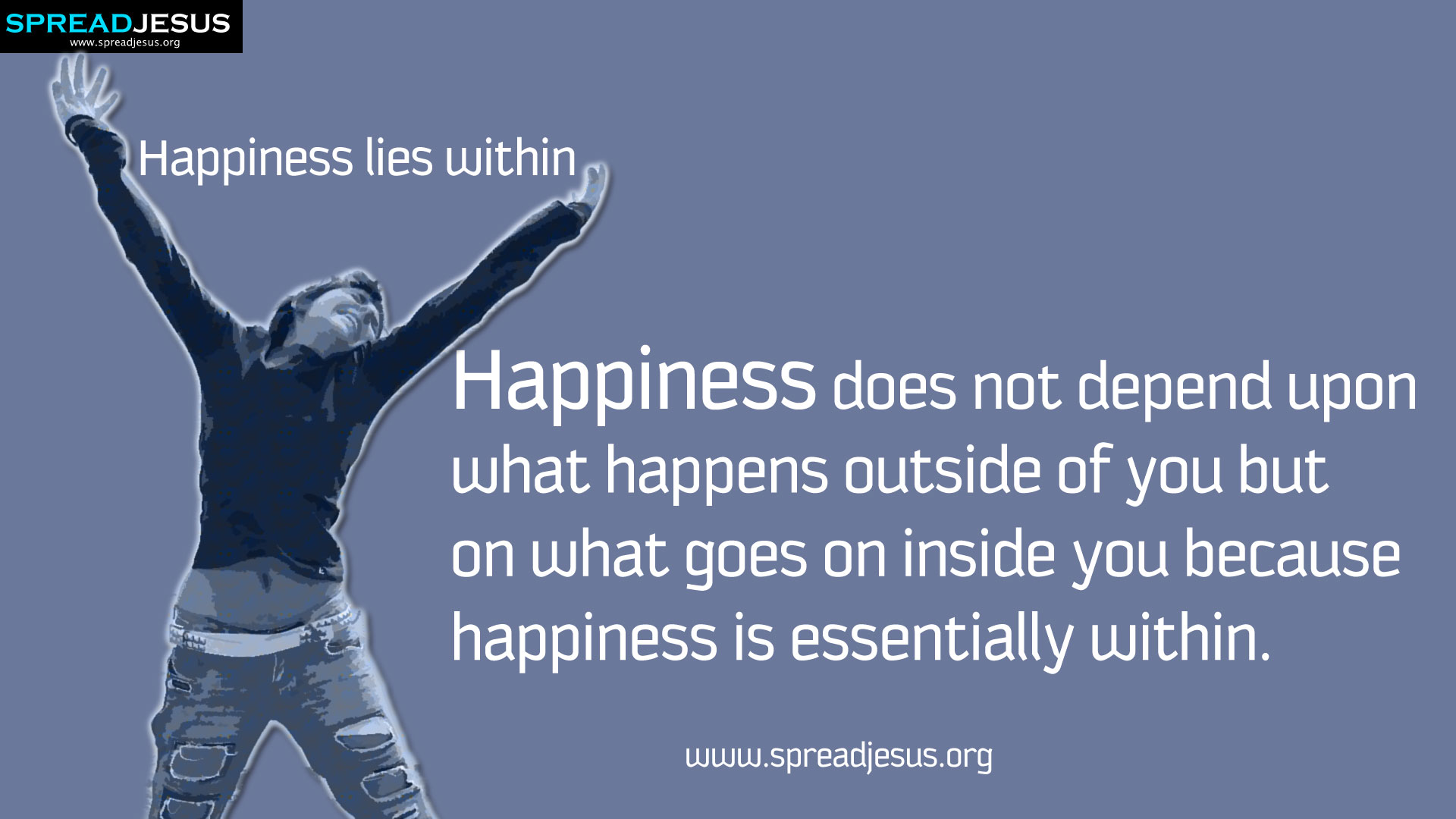 Happiness lies within HD-Wallpaper:Happiness image Quotes