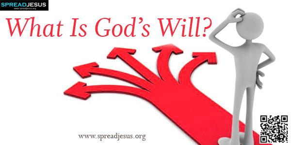What Is God's Will? A prominent aspect of the seeker's spiritual life is to seek God and his presence, his plan for her and to fulfil it.-spreadjesus.org