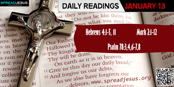 Daily readings January 13