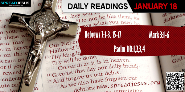 Daily Readings January 18