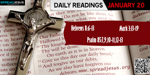 Daily Readings January 20