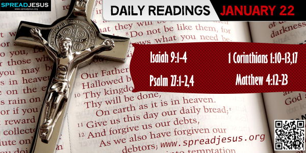 Daily Readings January 22
