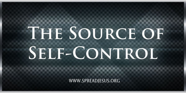 The Source of Self-Control